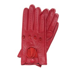Rękawiczki damskie, czerwony, 46-6-275-2T-L, Zdjęcie 1