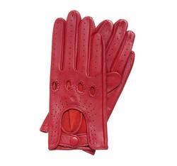 Rękawiczki damskie, czerwony, 46-6-275-2T-M, Zdjęcie 1