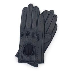 Rękawiczki damskie, granatowy, 46-6-275-GC-M, Zdjęcie 1