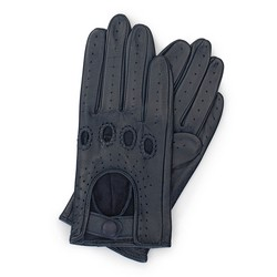 Rękawiczki damskie, granatowy, 46-6-275-GC-S, Zdjęcie 1