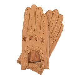 Rękawiczki damskie, jasny brąz, 46-6-275-LB-M, Zdjęcie 1