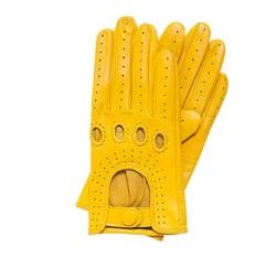 Rękawiczki damskie, żółty, 46-6-275-Y-M, Zdjęcie 1