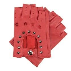 Rękawiczki damskie, czerwony, 46-6-303-2T-L, Zdjęcie 1