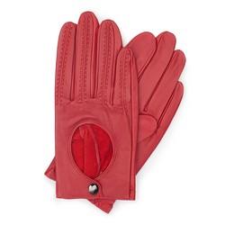 Rękawiczki damskie, czerwony, 46-6L-290-2T-M, Zdjęcie 1