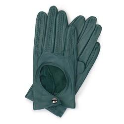 Rękawiczki damskie, zielony, 46-6L-290-BG-L, Zdjęcie 1