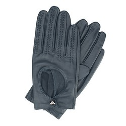 Rękawiczki damskie, granatowy, 46-6L-290-GC-L, Zdjęcie 1