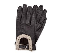 Rękawiczki damskie, ciemny brąz, 46-6L-292-BB-S, Zdjęcie 1