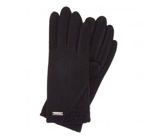 Rękawiczki damskie, czarny, 47-6-112-1-U, Zdjęcie 1