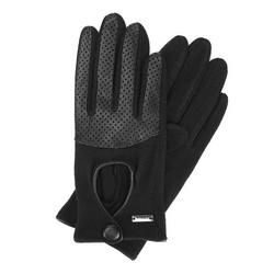 Rękawiczki damskie, czarny, 47-6-303-1-U, Zdjęcie 1