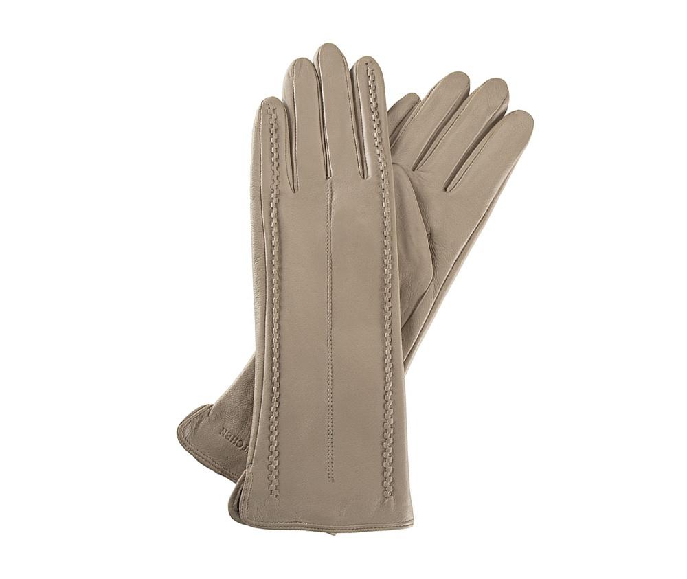 Перчатки женские кожаныеПерчатки женские кожаные<br><br>секс: женщина<br>Цвет: бежевый<br>Размер INT: S