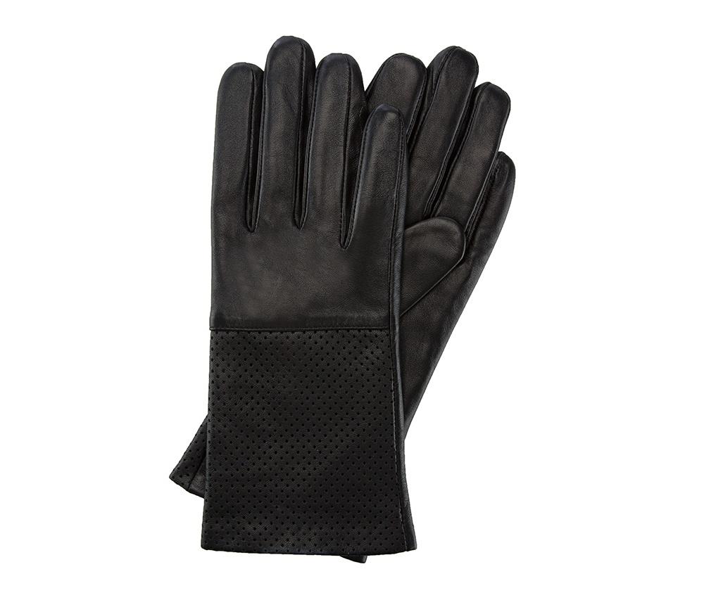 Перчатки женские кожаныеПерчатки женские кожаные<br><br>секс: женщина<br>Цвет: черный<br>Размер INT: XL