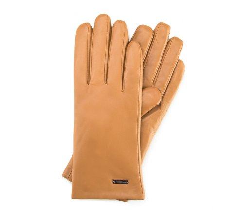 Rękawiczki damskie, beżowy, 39-6-500-L-V, Zdjęcie 1