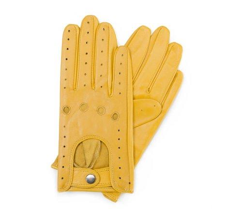 Rękawiczki damskie, żółty, 46-6-274-Y-V, Zdjęcie 1