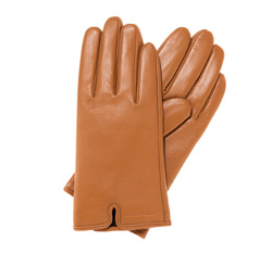 Rękawiczki damskie, beżowy, 39-6-544-L-M, Zdjęcie 1