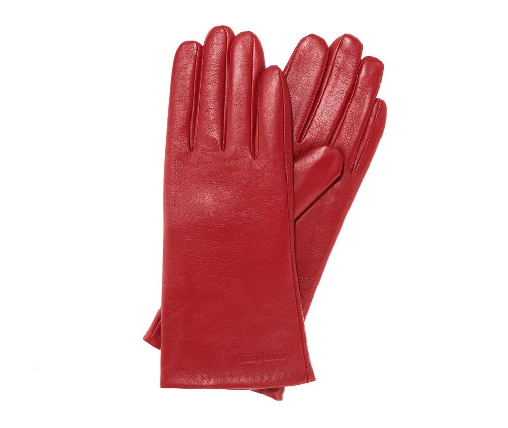 Перчатки женские кожаные Wittchen 39-6-545-2T, красныйПерчатки женские кожаные<br><br>секс: женщина<br>Размер INT: S