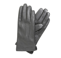 Rękawiczki damskie, szary, 39-6L-202-S-M, Zdjęcie 1
