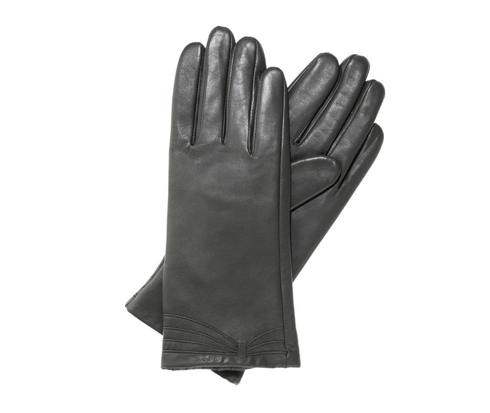 Перчатки женские кожаные Wittchen 39-6L-224-S, серыйПерчатки женские кожаные<br><br>секс: женщина<br>Цвет: серый