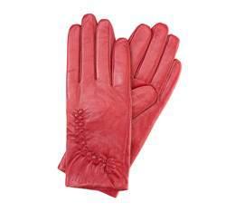 Перчатки женские кожаные Wittchen 39-6-531-2T, красный 39-6-531-2T