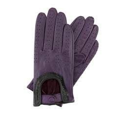 Rękawiczki damskie, fioletowy, 46-6L-292-P-X, Zdjęcie 1