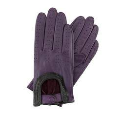 Rękawiczki damskie, fioletowy, 46-6L-292-P-M, Zdjęcie 1
