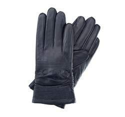 Rękawiczki damskie, granatowy, 39-6-535-GC-L, Zdjęcie 1