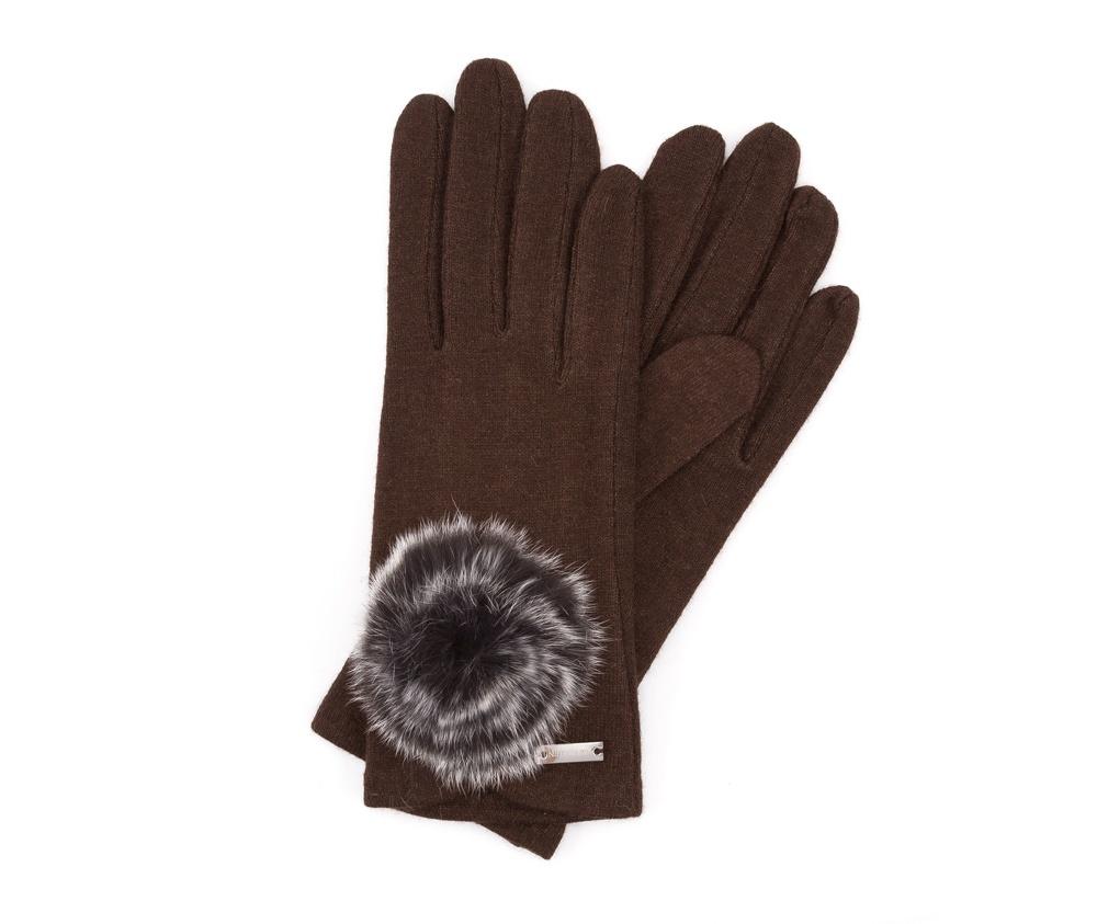 Перчатки женские Wittchen 47-6-101-D, коричневый