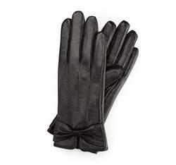 Перчатки женские кожаные Wittchen 39-6-528-1, черный 39-6-528-1