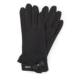 Rękawiczki damskie, czarny, 47-6-102-1-U, Zdjęcie 1