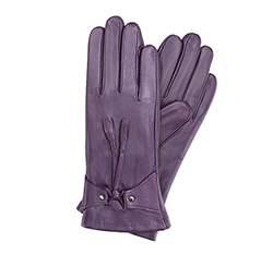 Перчатки женские кожаные Wittchen 39-6-537-P, фиолетовый 39-6-537-P