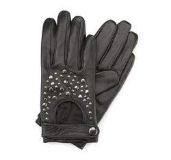 Rękawiczki damskie, czarny, 46-6-272-1-S, Zdjęcie 1