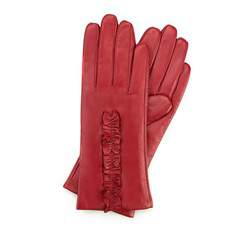 Перчатки женские кожаные Wittchen 39-6-534-2T, красный 39-6-534-2T