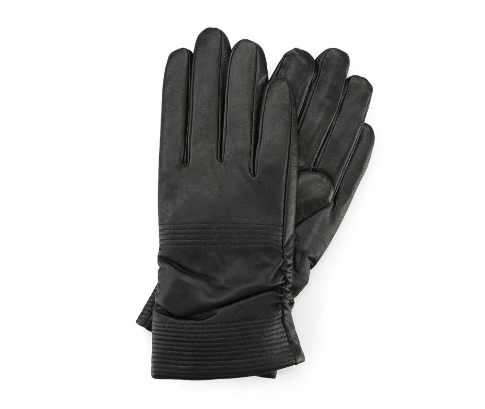 Перчатки женские кожаныеПерчатки женские кожаные<br><br>секс: женщина<br>Цвет: черный<br>Размер INT: S<br>материал:: Натуральная кожа