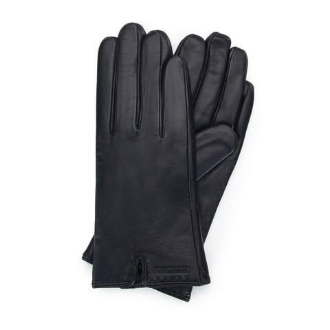 Rękawiczki damskie, czarny, 39-6L-213-1-V, Zdjęcie 1