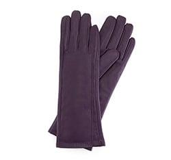 Rękawiczki damskie, fioletowy, 39-6L-227-P-X, Zdjęcie 1