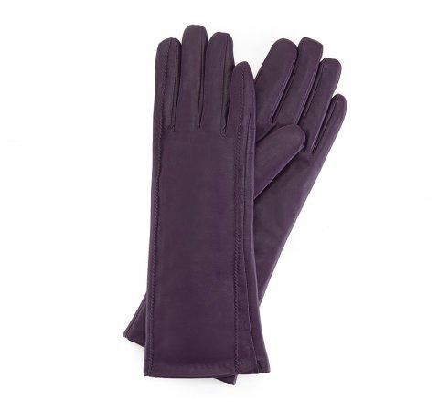 Rękawiczki damskie, fioletowy, 39-6L-227-1-S, Zdjęcie 1