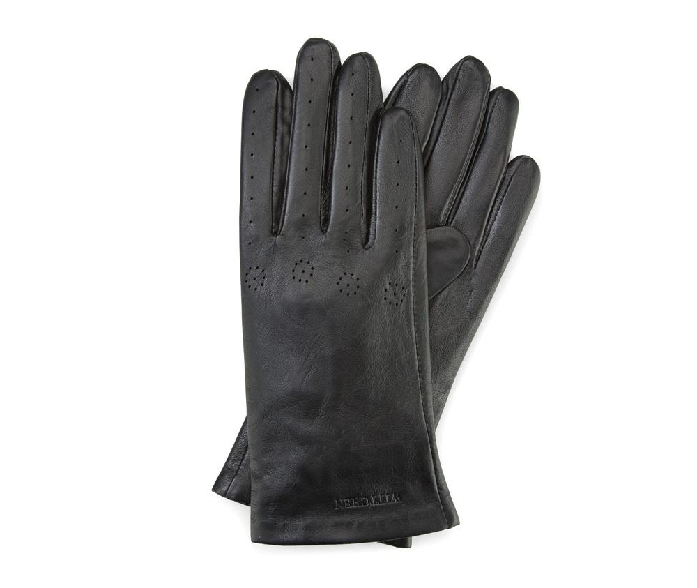 Перчатки женские кожаныеПерчатки женские кожаные<br><br>секс: женщина<br>Цвет: черный<br>Размер INT: XL<br>вид:: неутепленные<br>материал:: Натуральная кожа