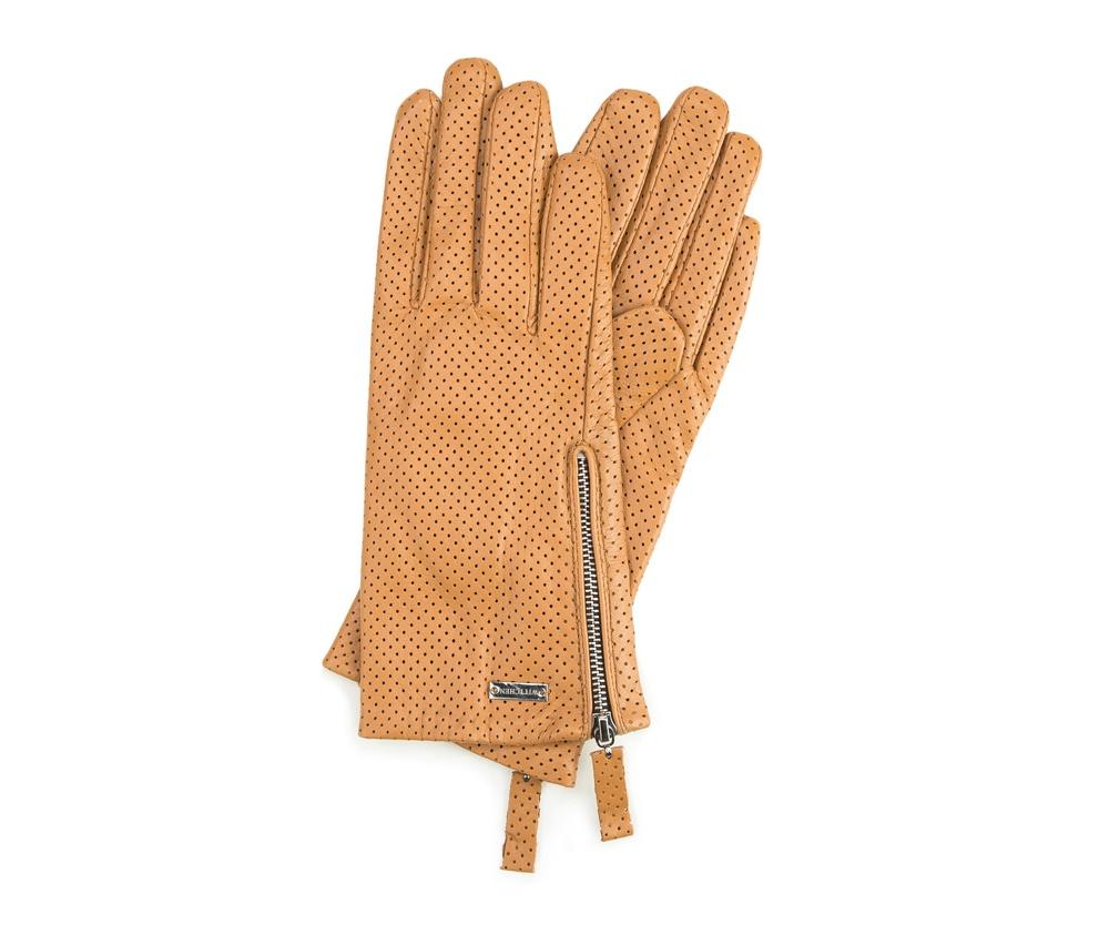 Перчатки женские кожаныеПерчатки женские кожаные<br><br>секс: женщина<br>Цвет: желтый<br>Размер INT: L<br>материал:: Натуральная кожа