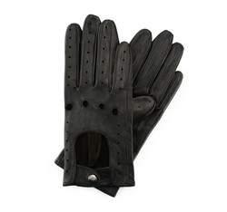 Rękawiczki damskie, czarny, 46-6-274-1-L, Zdjęcie 1