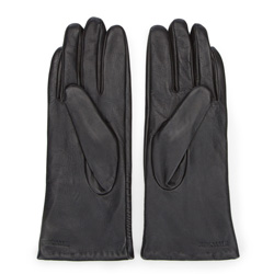 Rękawiczki damskie, czarny, 39-6-543-1-M, Zdjęcie 1