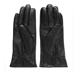 Rękawiczki damskie, czarny, 39-6-549-1-S, Zdjęcie 1