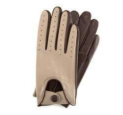Rękawiczki damskie, beżowo - brązowy, 46-6-270-6A-XL, Zdjęcie 1