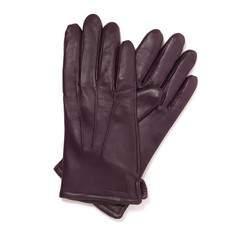 Rękawiczki damskie, fioletowy, 39-6-202-P-M, Zdjęcie 1