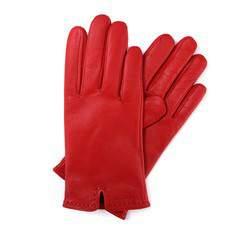 Перчатки женские кожаные Wittchen 39-6-213-2T, красный 39-6-213-2T