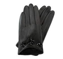 Rękawiczki damskie, czarny, 39-6-504-1-L, Zdjęcie 1