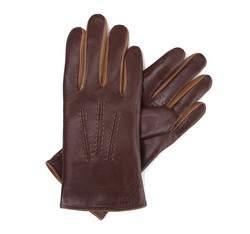 Rękawiczki damskie, brązowy, 39-6-282-D6A-X, Zdjęcie 1