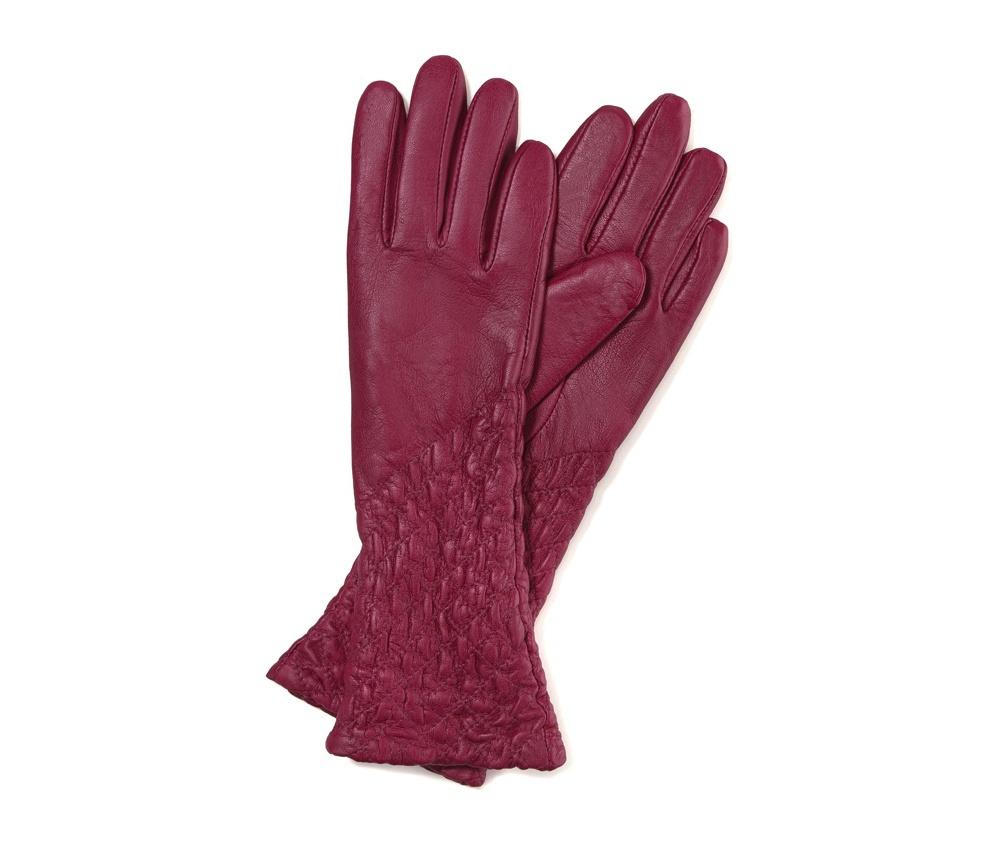 Перчатки женские кожаныеПерчатки женские кожаные<br><br>секс: женщина<br>Цвет: розовый<br>Размер INT: S