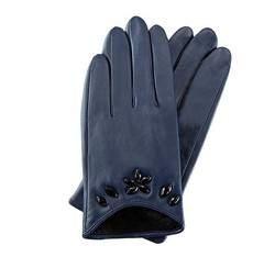 Rękawiczki damskie, chabrowy, 39-6-504-GN-S, Zdjęcie 1