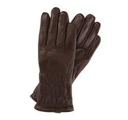 Rękawiczki damskie, ciemny brąz, 39-6-505-B-S, Zdjęcie 1