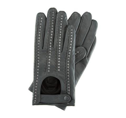 Rękawiczki damskie, szaro - srebrny, 46-6-271-S-V, Zdjęcie 1