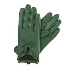 Rękawiczki damskie, zielony, 39-6-285-7T-S, Zdjęcie 1
